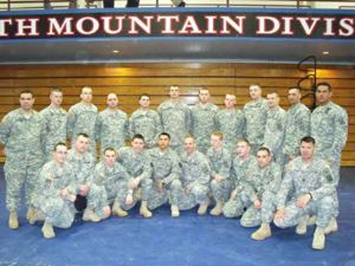 SUBMITTED PHOTO Soldiers in the Fires & Effects Coordination Cell (FECC) Platoon at Fort Drum.
