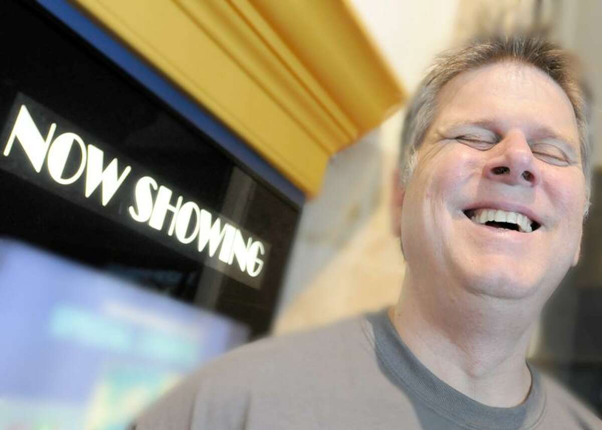 Tommy Edison, the blind-since-birth traffic reporter for STAR 99.9 radio, recently started a movie review website called www.blindfilmcritic.com. Photo by Peter Hvizdak/New Haven Register