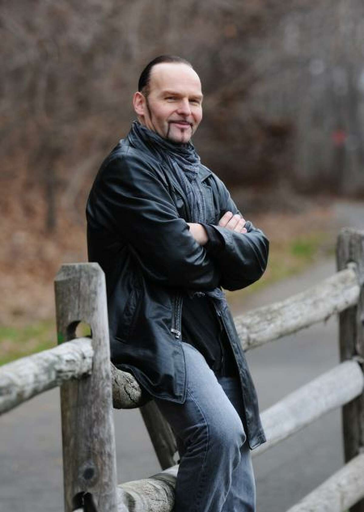 """Hamden-- Alex Ziwak, owner of Ziwak's Martial Arts in Hamden, has landed a featured role in """"Pawn,"""" a movie directed by David A. Armstrong and starring Ray Liotta, Nikki Reed and Forest Whitaker. Peter Casolino/New Haven Register12/15/11"""