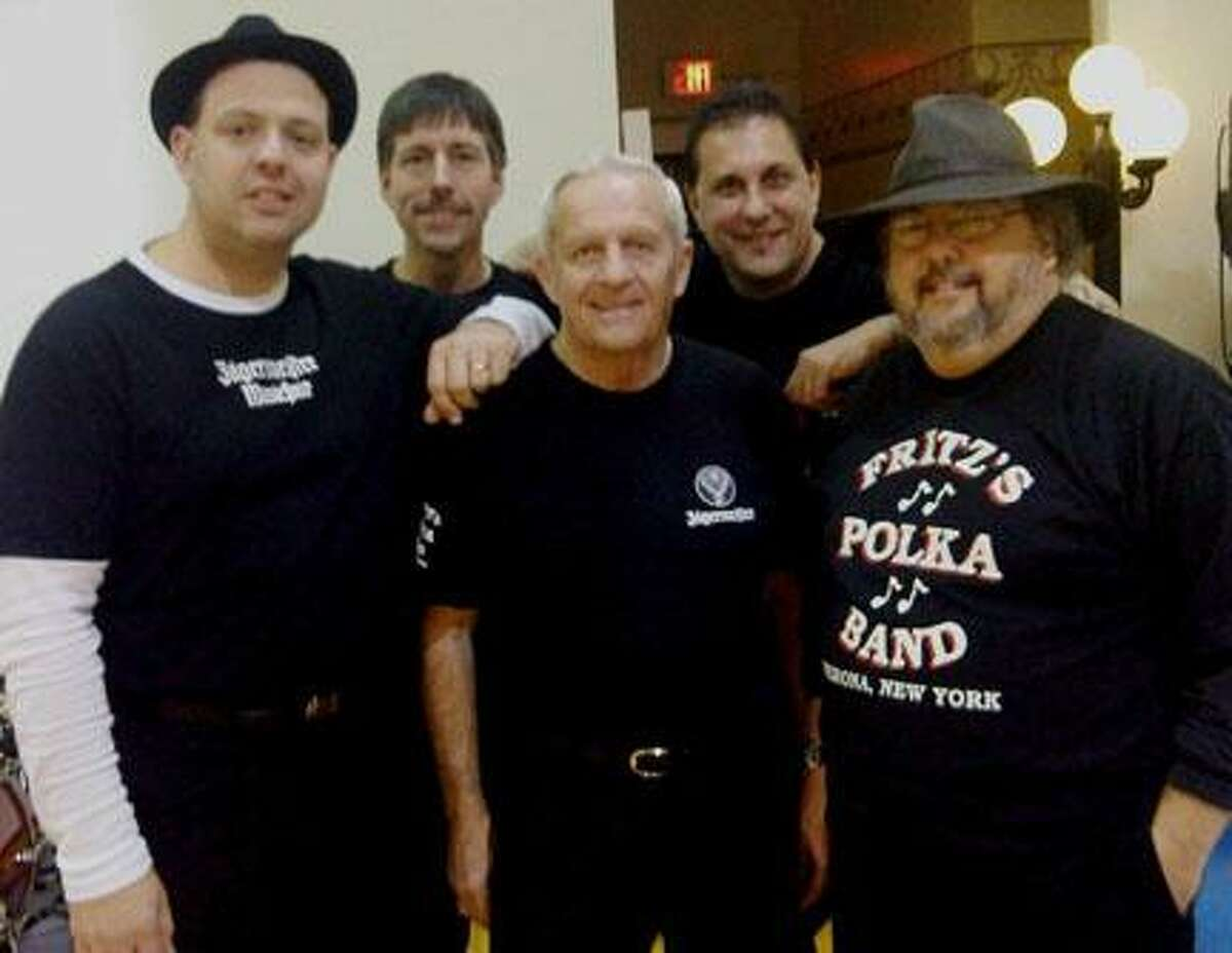 Submitted Photo Fritz's Polka Band will perform twice in Western New York Monday to celebrate Dyngus Day, a celebration of the end of the lenten season.