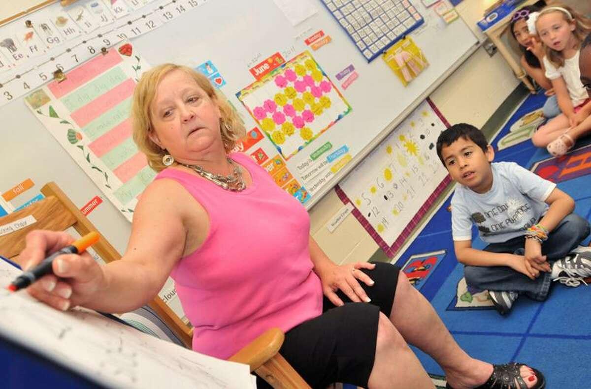 New Haven's Teacher of the Year Deborah Wingreen. Brad Horrigan/Register