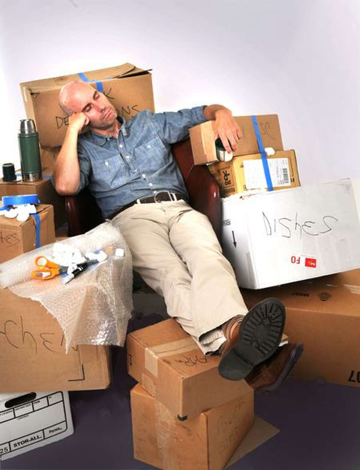 Melanie Stengel/Register photo illustration: After a long day of carting boxes, one might dream about never having to move again.