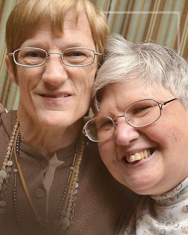 Karen, left, and Midge Lawless.