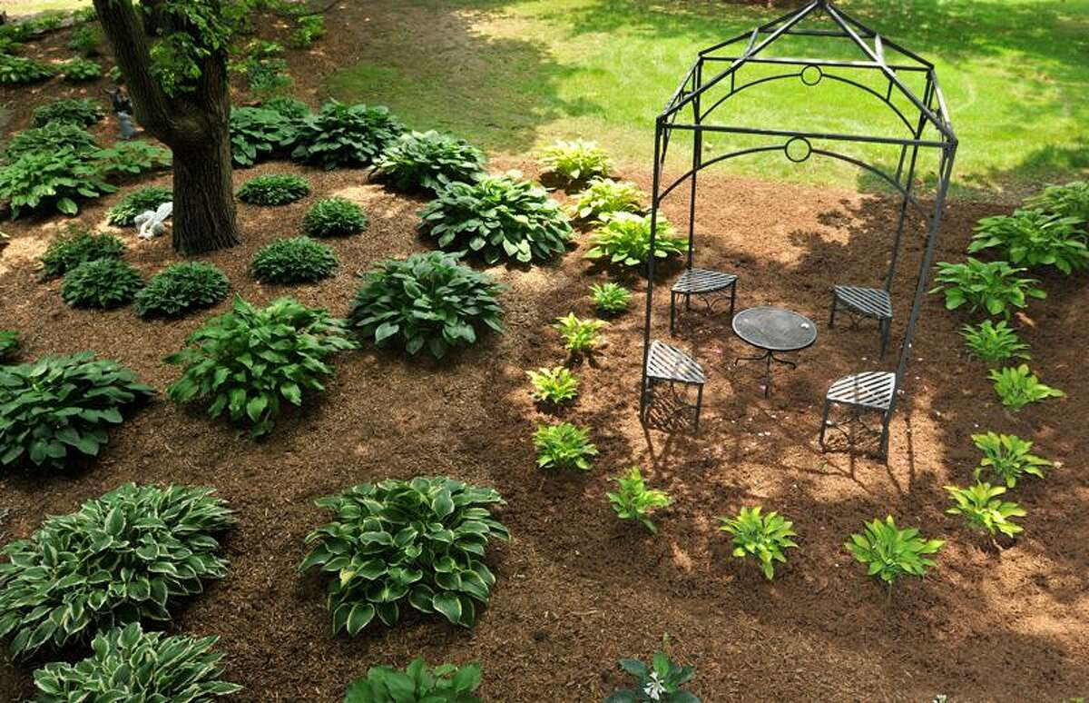Brad Horrigan/Register photos: The grounds of the Cosgrove estate in Branford will be open Sunday afternoon for a garden tour to benefit Orchard House.