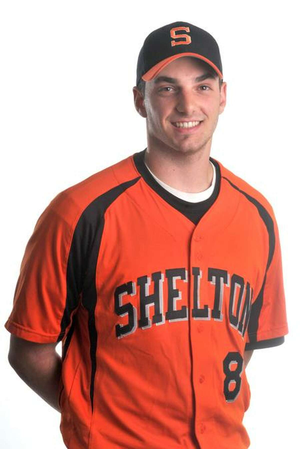 MALE ATHLETE OF THE WEEK: Shelton's Mike Georgalas. Photo by Brad Horrigan/New Haven Register