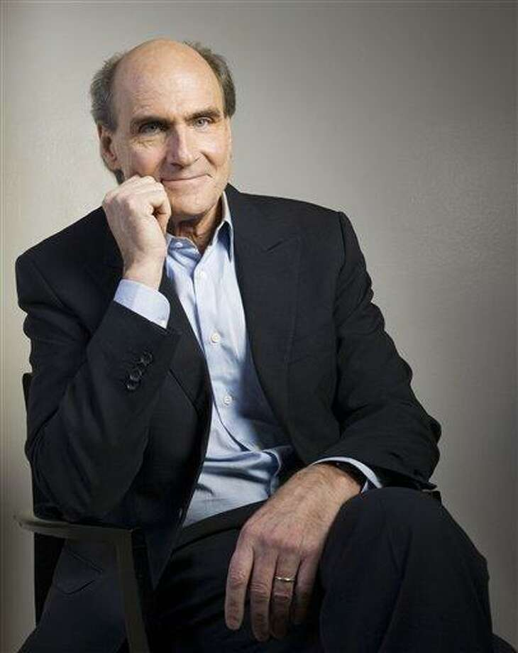 In this Feb. 15, 2011 photo, singer James Taylor poses for a portrait in New York. (AP Photo/Victoria Will) Photo: AP / Victoria Will