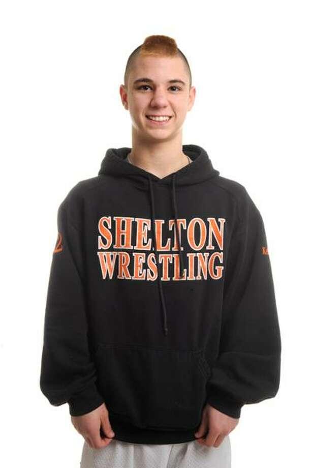 The Register's Male Athlete of the Week -- Sean Kellett, Shelton wrestling. (VM Williams/Register)