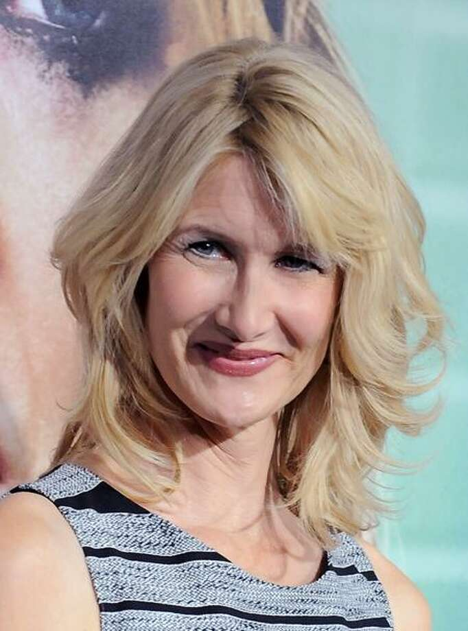 """Laura Dern arrives at the premiere of the HBO series, """"Enlightened"""" at The Paramount Theater, Thursday, Oct. 6, 2011, in Los Angeles. Enlightened debuts on Monday, Oct. 10 at 9:30pm. (AP Photo/Katy Winn) Photo: AP / WINNK"""