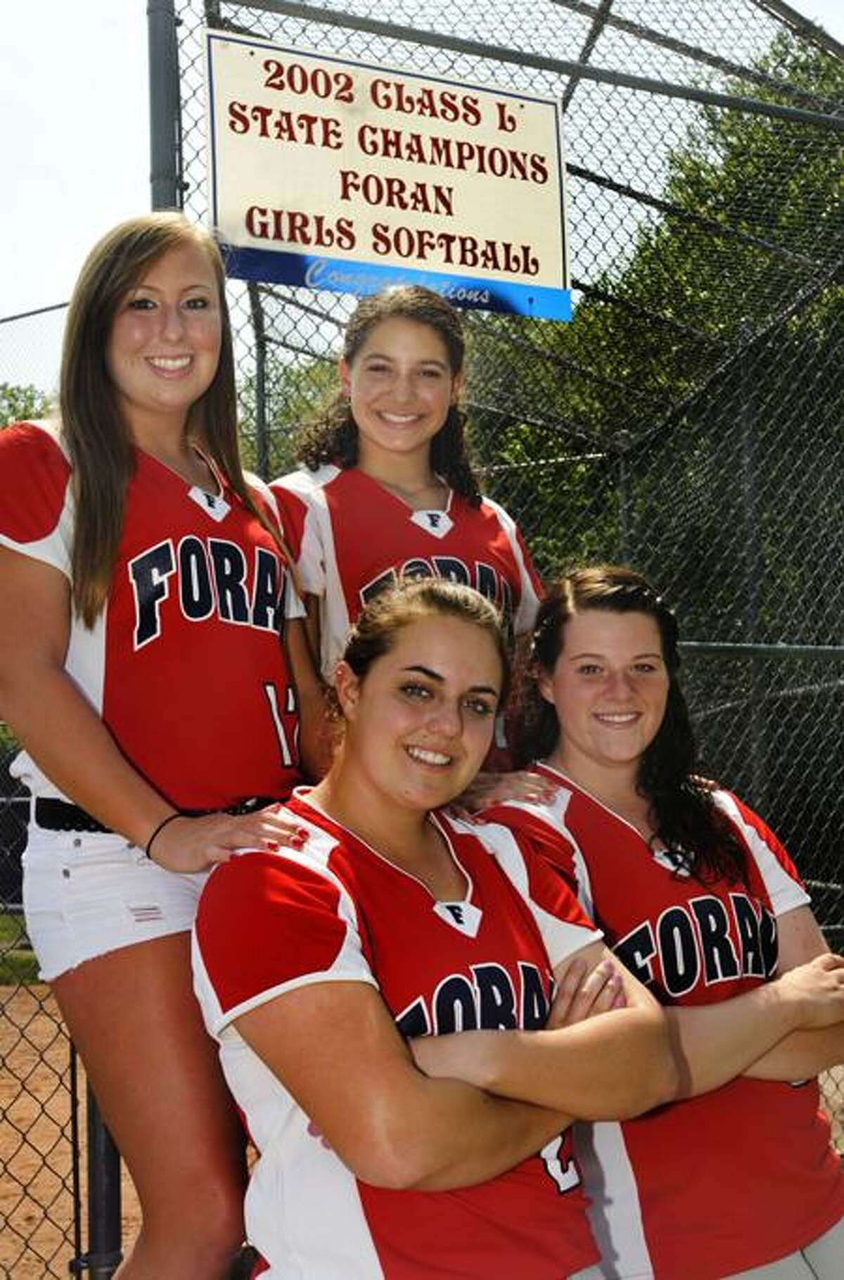 The Foran softball team faces Bacon Academy for the Class L state championship Saturday. Melanie Stengel/Register