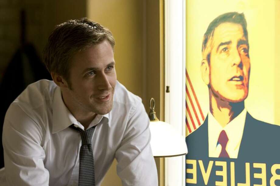 "Columbia Pictures photos: Ryan Gosling stars as George Clooney's political strategist in the Clooney-directed ""The Ides of March,"" opening today."