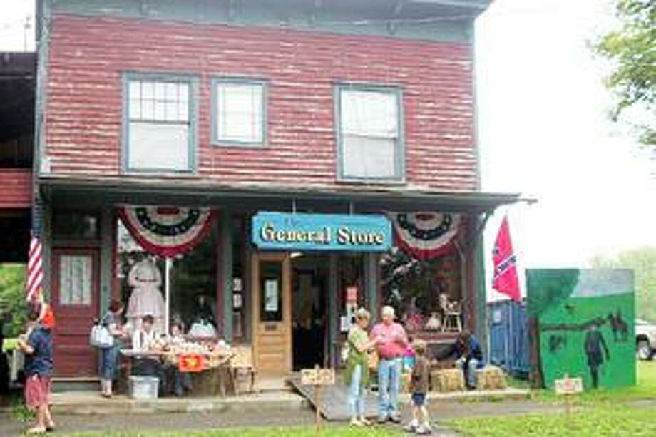 SUBMITTED PHOTOS The General Store opens for two days during the annual Peterboro Civil War Weekend. Fun shopping includes souvenirs, tee shirts and homemade baked goods.