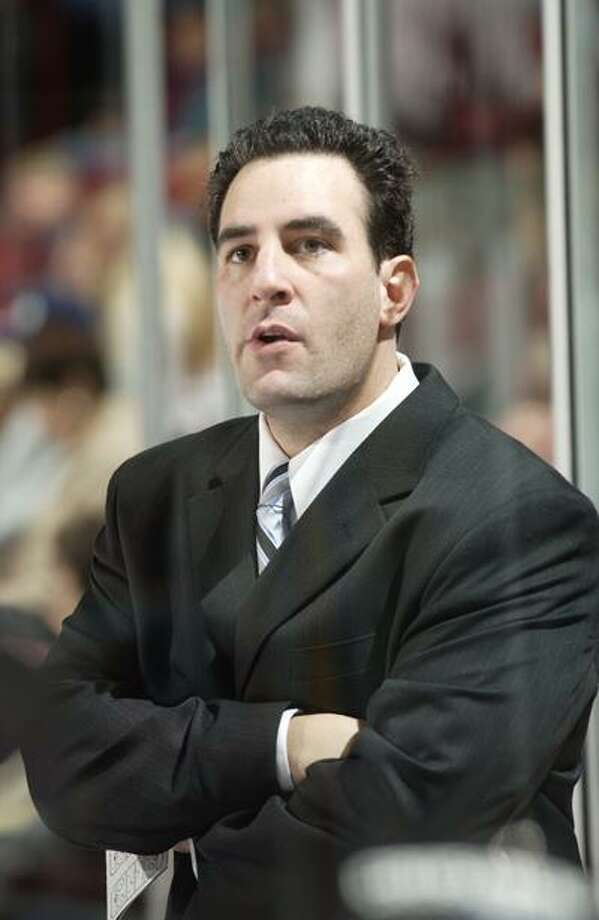 Yale associate head coach Kyle Wallack is leaving the Bulldogs and is headed to the Indiana Ice of the United States Hockey League. (Contributed photo) Photo: Thom Kendall/kendallphoto.com / 2005 Thom Kendall