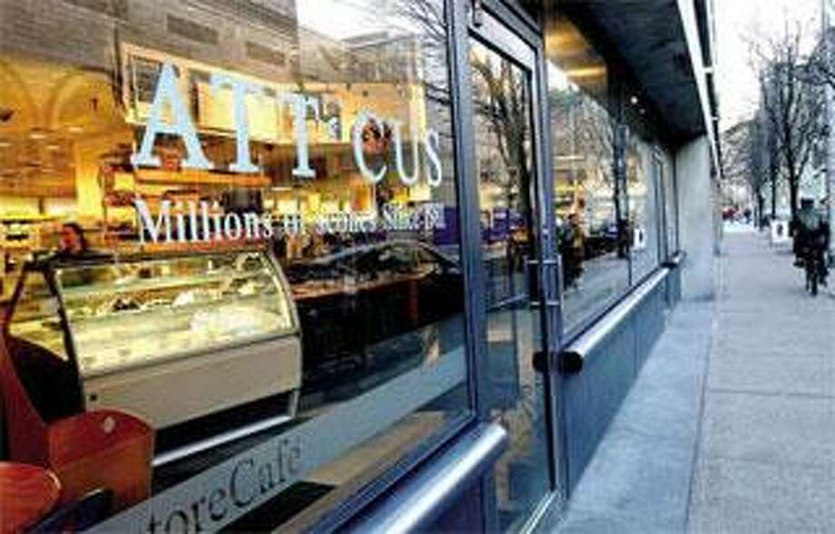 The Atticus Bookstore and Cafe is a popular stop on Chapel Street in New Haven. (Arnold Gold/Register)