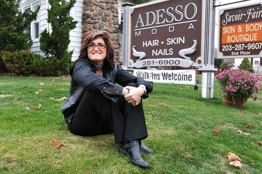 Tracy Vingiano, owner of Adesso Modo salon has raised over $500,000 to help various causes over the years. (Photo by Peter Casolino/New Haven Register)