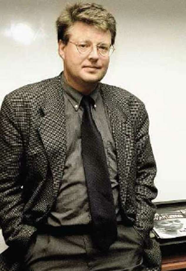 The late author Stieg Larsson left behind as much intrigue as that in his books. (Associated Press)