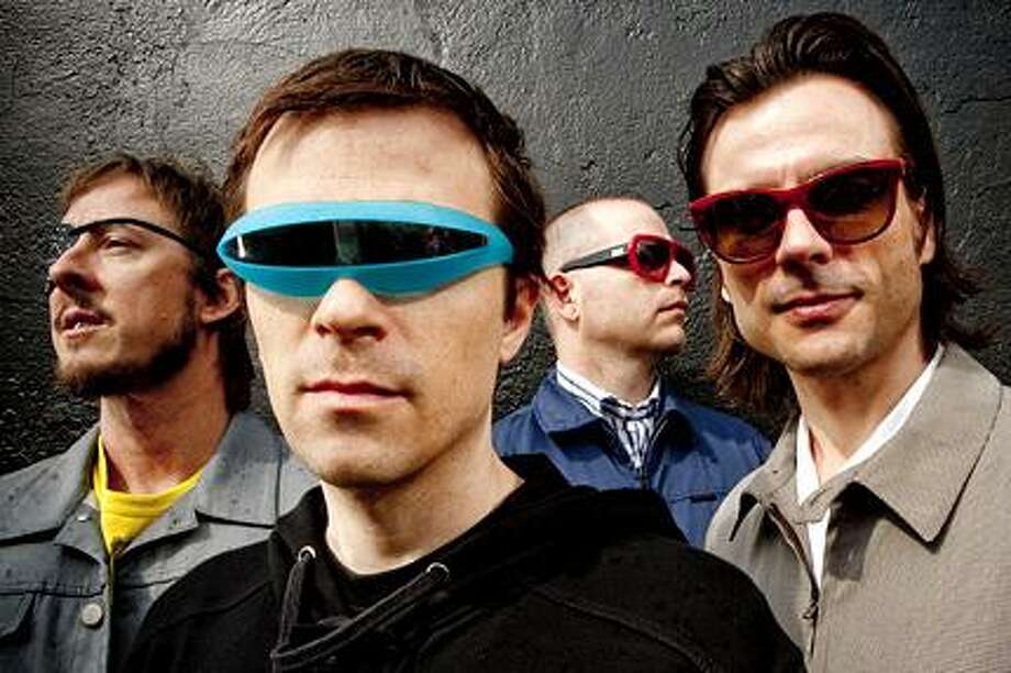"""BACK TO THE FUTURE: Weezer have announced initial plans for their """"Memories"""" tour, where they'll play their two most beloved albums in their entirety: 1994's 'Weezer' (The Blue Album) and 1996's 'Pinkerton."""