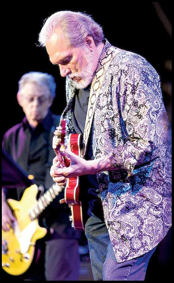 STILL HOT AFTER ALL THESE YEARS: Hot Tuna's founding members - Jack Casady and Jorma Kaukonen - have played together in bands for almost 50 years. No that is not a typo.