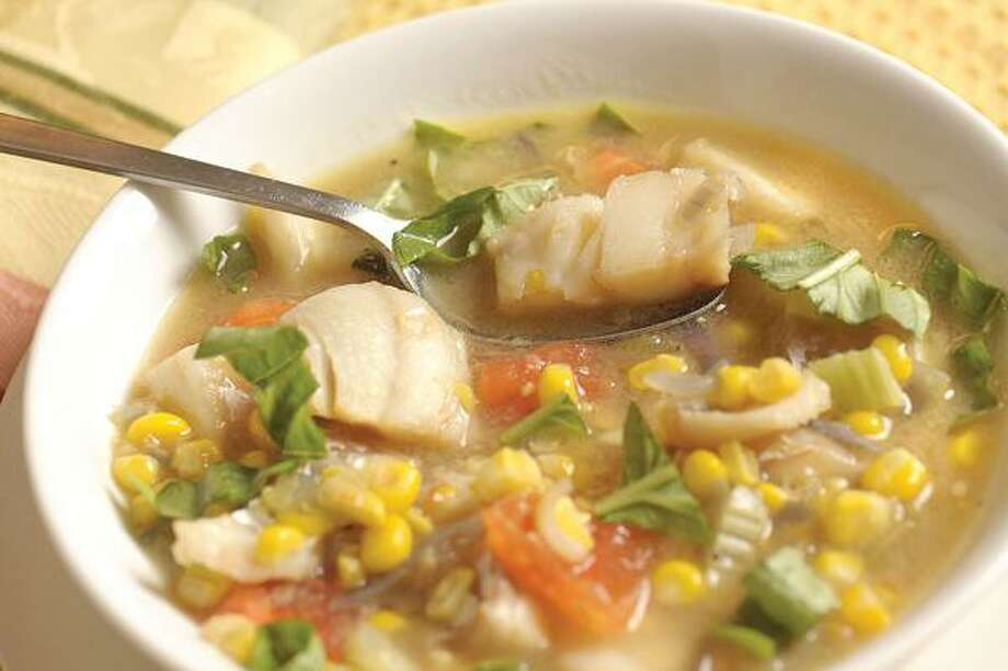 Summer Fish Chowder, Jim Frost/Tribune Media Services
