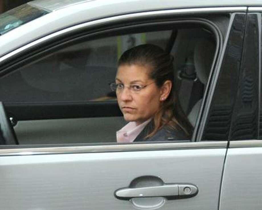 Connecticut State Trooper Karen Gabianelli testified Thursday in the Hayes trial.  Brad Horrigan/Register