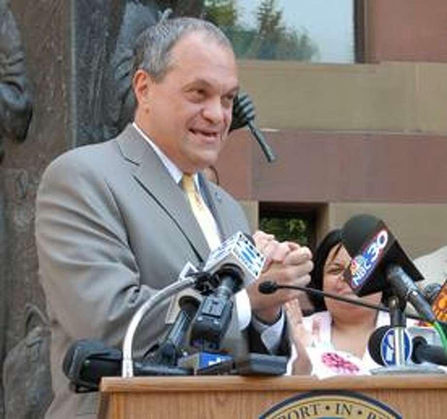 New Haven Mayor John DeStefano Jr. Photo by Mara Lavitt