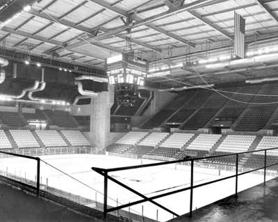 Fresh ice waited for the New Haven  Nighthawks, one of several pro hockey teams that have called the Coliseum home.