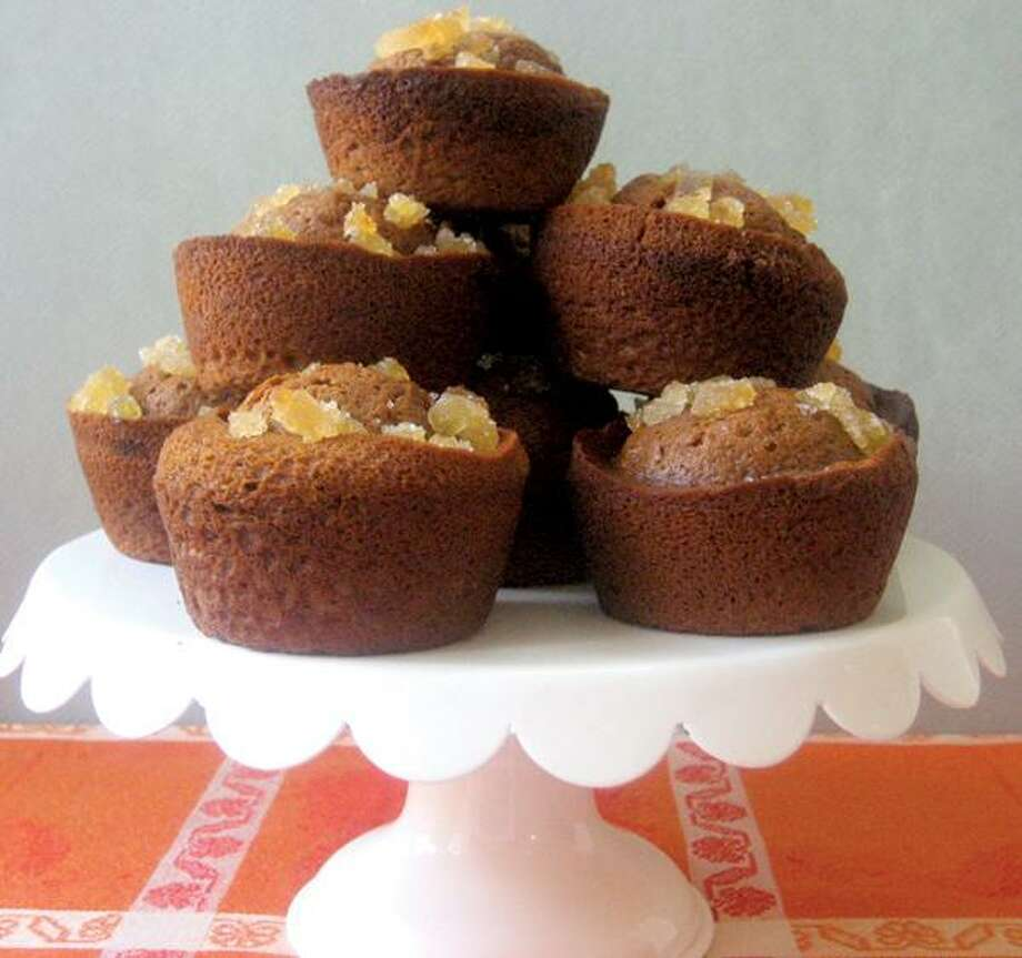 Betty Rosbottom photo, Twice Ginger Gingerbread Muffins