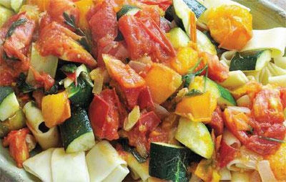 Summer Tomato and Zucchini Sauce (Peter Casolino/Register)