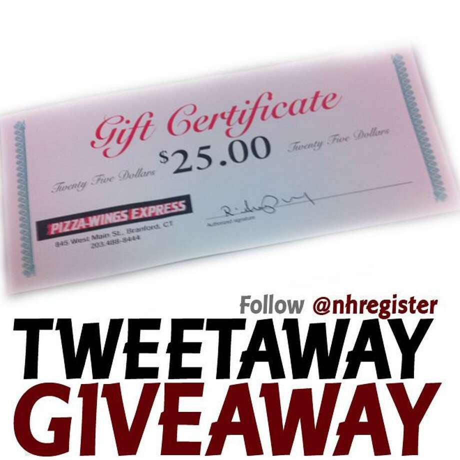 Tweet a link to this page for a chance to win this $25 gift certificate.