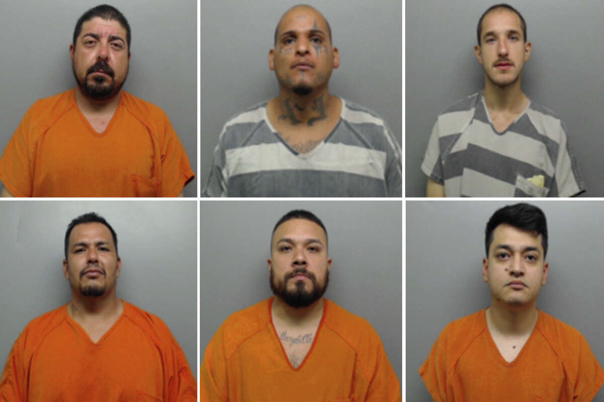 Click through this gallery to see each mugshot and charge for the 13 people arrested in Webb County's 'Operation GOTHCA' for July.