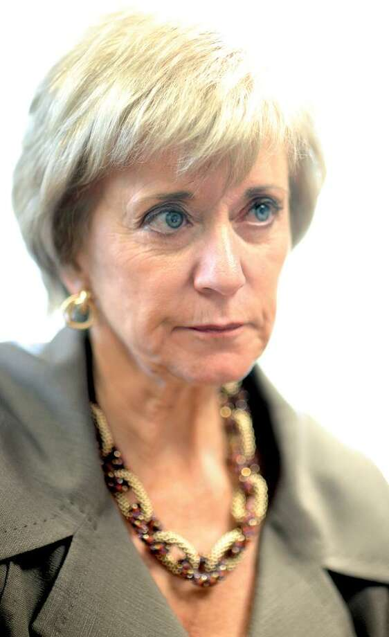 Linda McMahon / photo by Vern Williams, Register