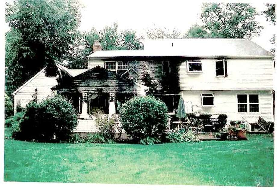 This evidence photo shows the Petit family's Cheshire house after the July 2007 home invasion.