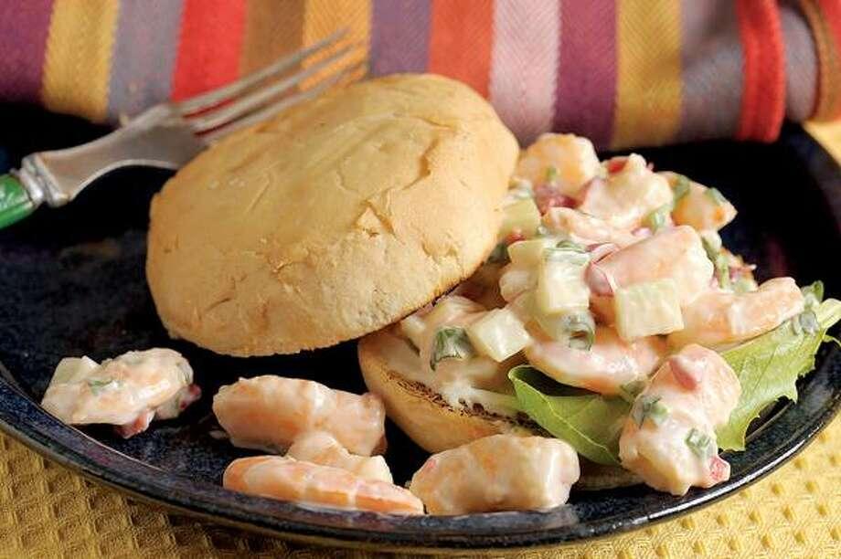 Jim Frost/Tribune Media Services photo, Spicy Shrimp Sandwich