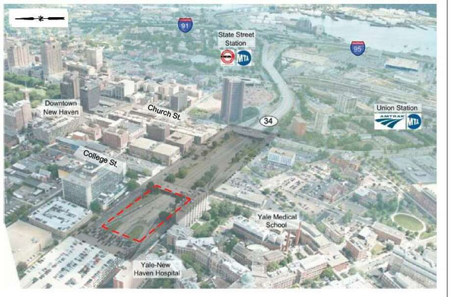 The area targeted for development in New Haven  Source: City of New Haven document