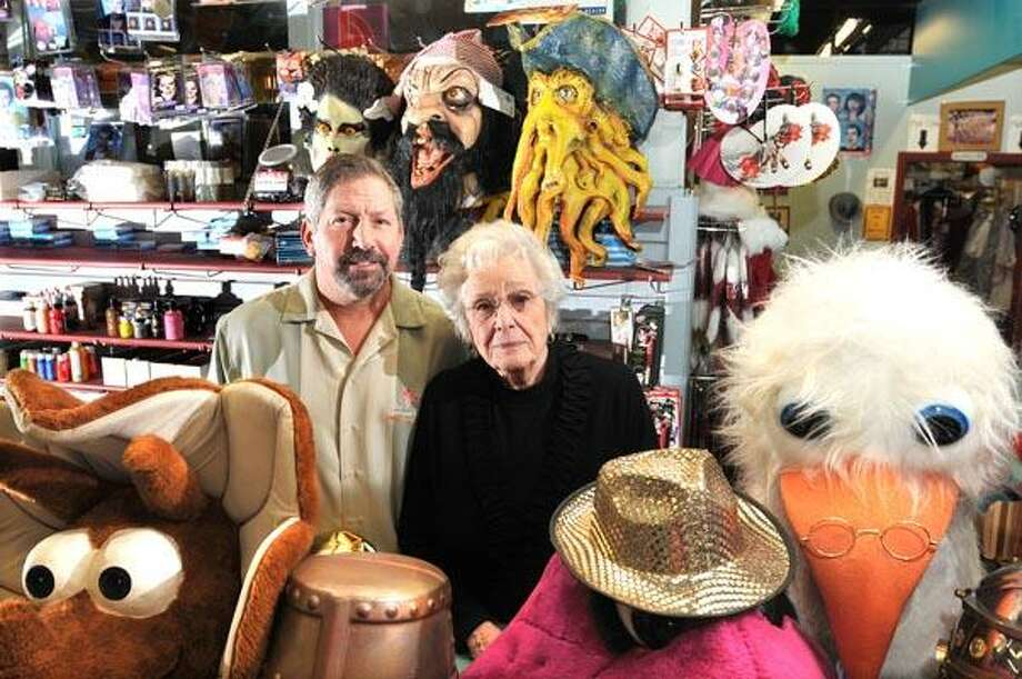 Jeff and his mother Josi Russell have sold their Costume Bazzar business after 47-years. The new owners will focus on rental and theatrical costumes and do away with the Halloween costumes.  (Peter Casolino/Register)