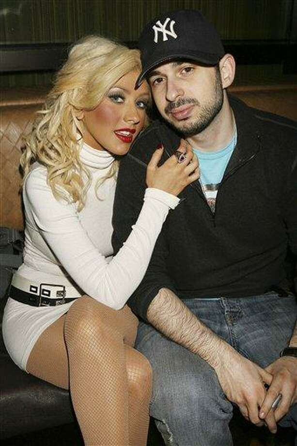 FILE - In this March 23, 2007 file photo originally provided by Starpix, singer Christina Aguilera and her husband Jordan Bratman attend a party at the Marquee club in New York. (AP Photo/Dave Allocca, Starpix, file) Photo: ASSOCIATED PRESS / STARPIX