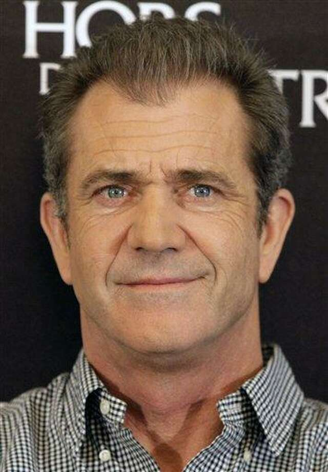 "FILE - In this Feb. 4, 2010 file photo, actor Mel Gibson looks on during a photocall to promote the movie ""Edge of Darkness"", in  Paris. (AP Photo/Francois Mori, file) Photo: ASSOCIATED PRESS / AP2010"