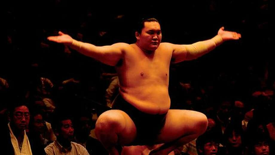 """Magnolia Pictures/Associated Press photo, Corruption in the sumo wrestling industry is but one of the topics in """"Freakonomics,"""" opening in area theaters this weekend."""