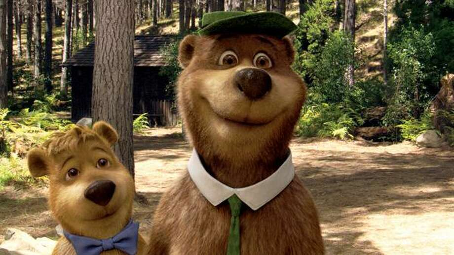 Warner Bros. Pictures, Dan Aykroyd and Justin Timberlake lend their voices to Yogi and Boo Boo, respectively.