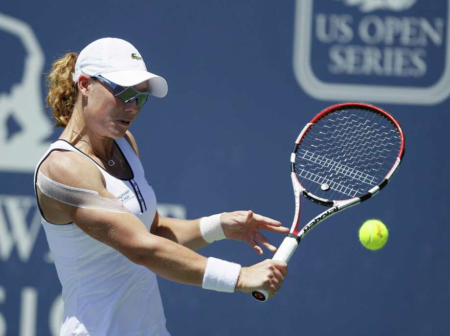 Samantha Stosur, of Australia, and ranked No. 5 in the world will compete at the Pilot Pen. AP Photo/Eric Risberg Photo: ASSOCIATED PRESS / AP