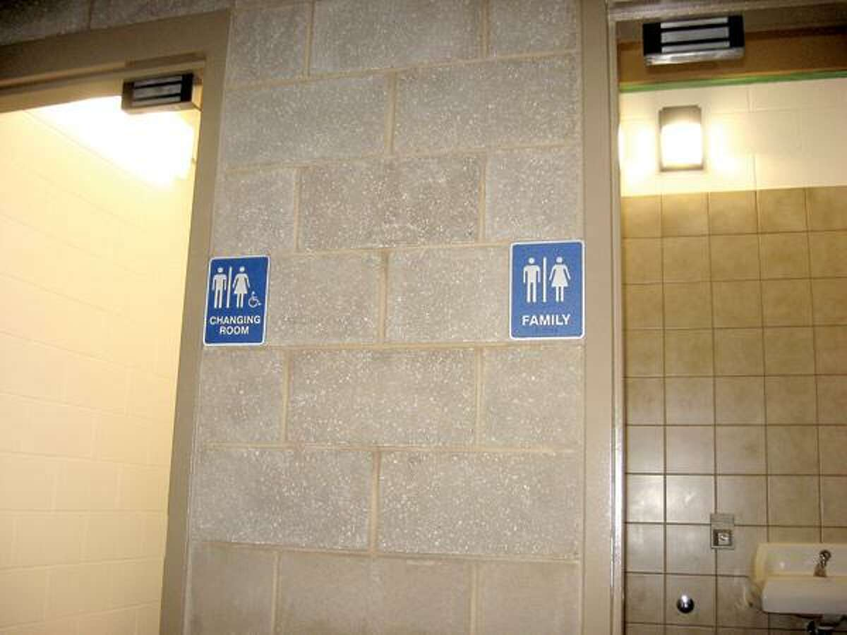 Public Restroom Co./Associated Press photo, Family restrooms such as this one at Cypress Point Park in Tampa, Fla., take the pressure off parents and are being included in new construction projects around the country.