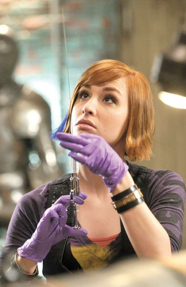 "Syfy photo, Allison Scagliotti as Claudia Donovan in Syfy's ""Warehouse 13."""