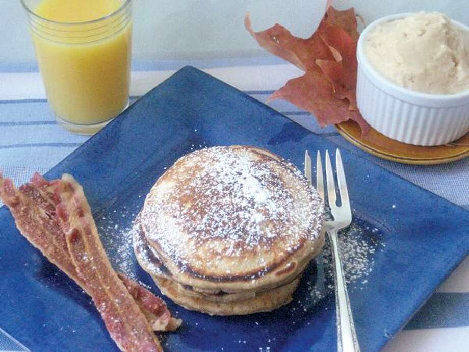 Betty Rosbottom, Spiced Pancakes With Maple Butter
