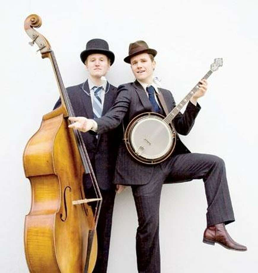 New York old-timey duo The Two Man Gentlemen Band comes to Cafe Nine for a show at 9 tonight. (Charisma Artists)