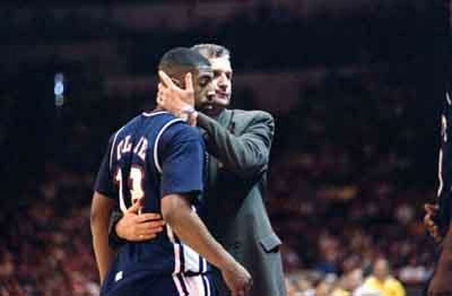 Kevin Ollie is expected to reunite with Jim Calhoun and replace Pat Sellers as an assistant coach for the UConn men's basketball program. (Associated Press file photo) Photo: AP / 1995 AP