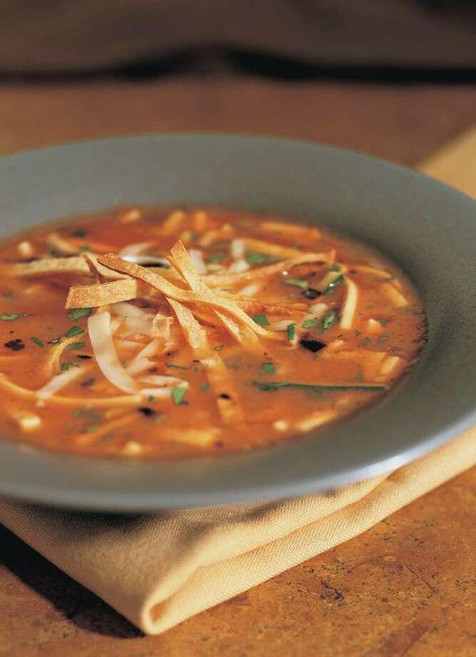 Noel Barnhurst, Vegetable Tortilla Soup