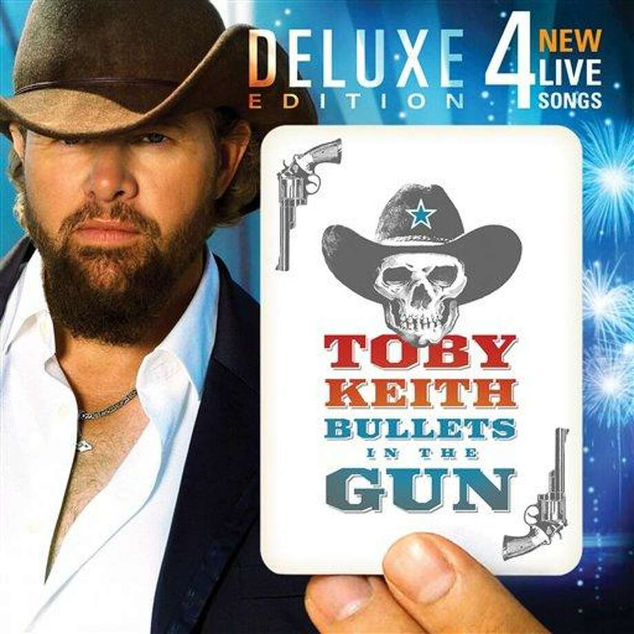 """In this CD cover image released by Show Dog-Universal, the latest by Toby Keith, """"Bullets In The Gun"""" is shown. (AP Photo/Show Dog-Universal) Photo: AP / Show Dog-Universal"""