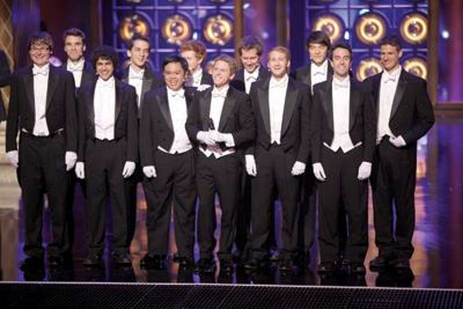 The Whiffenpoofs will perform on the NBC series starting tonight. (Contributed photos)