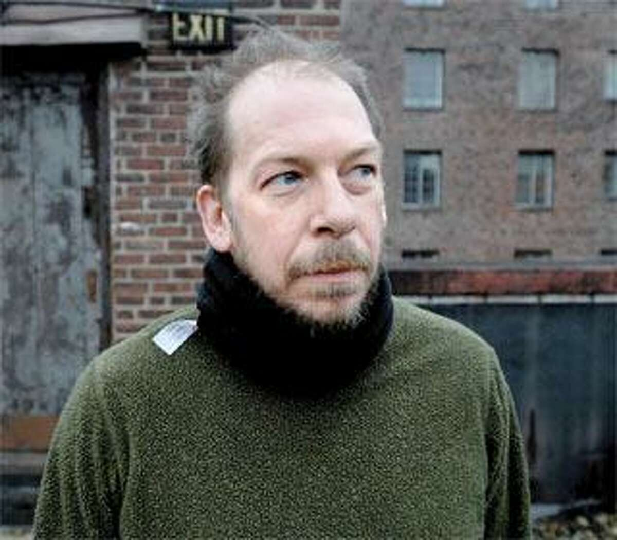 """Actor Bill Camp, above, collaborated with director Robert Woodruff on the adaptation of Dostoevsky's """"Notes From Underground,"""" making its world premiere Friday at the Yale Rep. (Arnold Gold/Register)"""