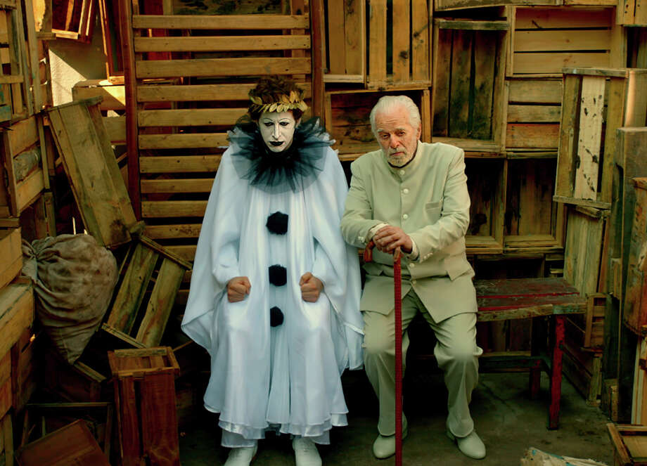 Alejandro Jodorowsky, right, tells an autobiographical tale in which the unpredictable filmmaker guides his own story and essentially advises himself at different stages of his life. Photo: Satori Films-ABKCO / Satori Films-ABKCO