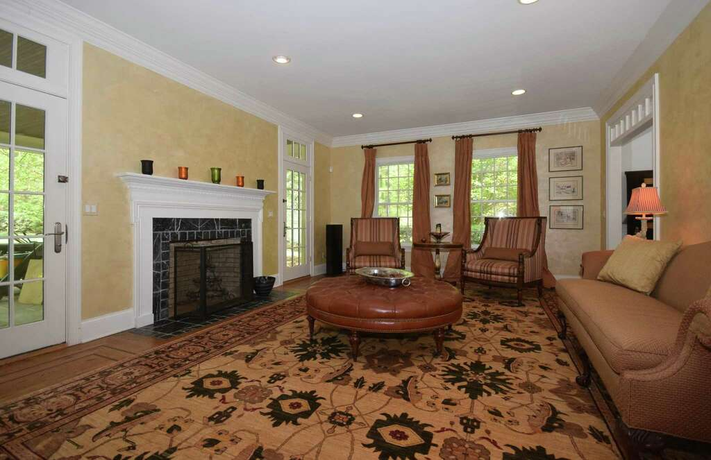 The over sized front to back formal living room has a fireplace flanked. On the Market  Custom 4 5 bedroom dream house with resort like